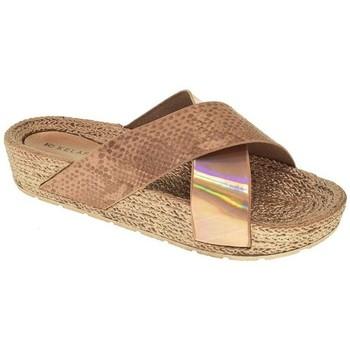 Zapatos Mujer Zuecos (Mules) Kelara PLAYA PISCINA M  ROSA Rosa