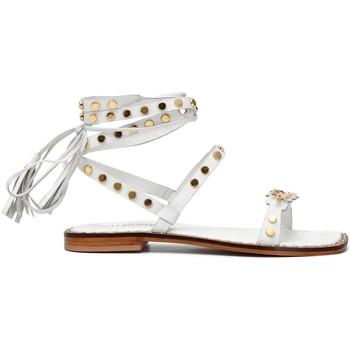 Zapatos Mujer Sandalias Café Noir C1GN1050 BIANCO