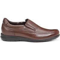 Zapatos Hombre Mocasín Fluchos 8499 LUCA AVE MOCASIN CASTANO