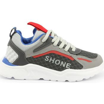 Zapatos Niño Zapatillas bajas Shone - 903-001 Gris