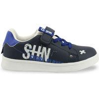 Zapatos Niños Zapatillas bajas Shone - 208-116 Azul
