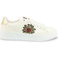 Zapatos Mujer Zapatillas bajas Shone - 620-523 Blanco