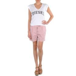 textil Mujer Shorts / Bermudas Diesel HANTU Rosa
