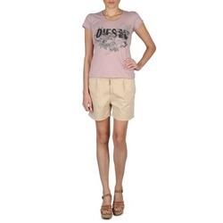 textil Mujer Shorts / Bermudas Diesel HANTU Beige