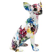Casa Figuras decorativas Signes Grimalt Chihuahua Negro
