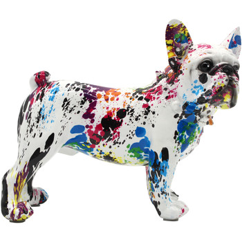 Casa Figuras decorativas Signes Grimalt Bulldog Frances Sentado Azul