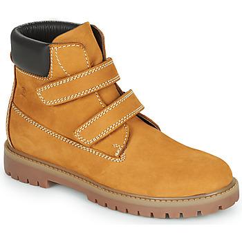 Zapatos Niño Botas de caña baja Citrouille et Compagnie PAXA Camel