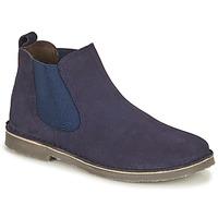 Zapatos Niños Botas de caña baja Citrouille et Compagnie HOVETTE Marino