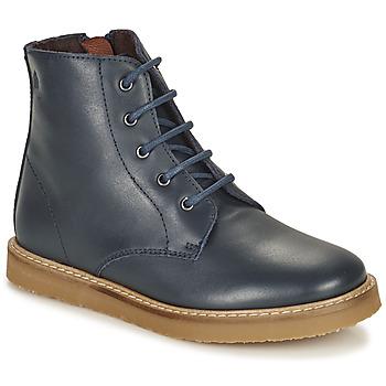 Zapatos Niños Botas de caña baja Citrouille et Compagnie HATINE Marino