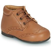 Zapatos Niños Botas de caña baja Citrouille et Compagnie PAULO Camel