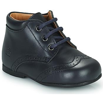 Zapatos Niños Botas de caña baja Citrouille et Compagnie PAULO Marino