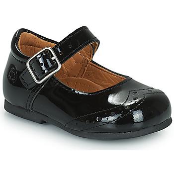Zapatos Niña Bailarinas-manoletinas Citrouille et Compagnie PULLO Barniz / Negro