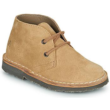 Zapatos Niño Botas de caña baja Citrouille et Compagnie PILLO Beige