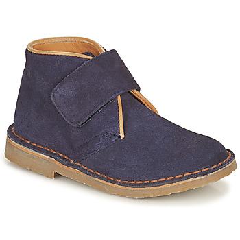 Zapatos Niño Botas de caña baja Citrouille et Compagnie NANUP Marino