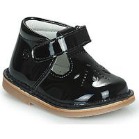 Zapatos Niña Bailarinas-manoletinas Citrouille et Compagnie OTALI Negro / Barniz