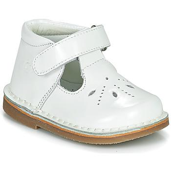 Zapatos Niña Bailarinas-manoletinas Citrouille et Compagnie OTALI Blanco / Barniz