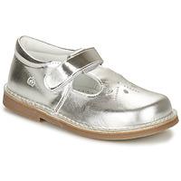 Zapatos Niña Bailarinas-manoletinas Citrouille et Compagnie OTAL Plateado