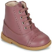 Zapatos Niña Botas de caña baja Citrouille et Compagnie PUMBAE Rosa