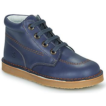 Zapatos Niño Botas de caña baja Citrouille et Compagnie PIMON Marino