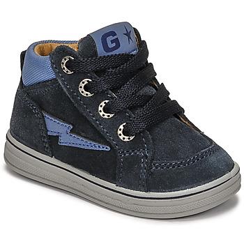 Zapatos Niño Zapatillas altas Citrouille et Compagnie PALLA Marino
