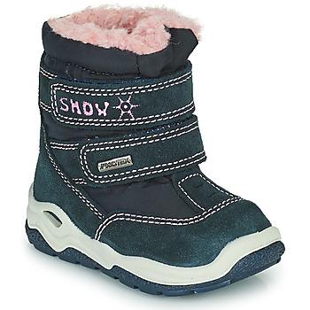 Zapatos Niña Botas de nieve Citrouille et Compagnie POUDOU Azul / Rosa