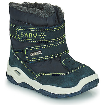 Zapatos Niño Botas de nieve Citrouille et Compagnie POUDOU Azul / Verde