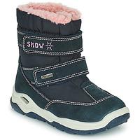 Zapatos Niño Botas de nieve Citrouille et Compagnie POUDOU Azul / Rosa
