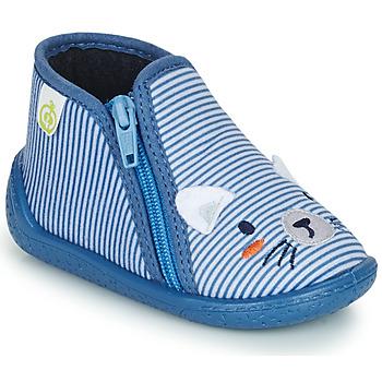 Zapatos Niño Pantuflas Citrouille et Compagnie PASTA Azul