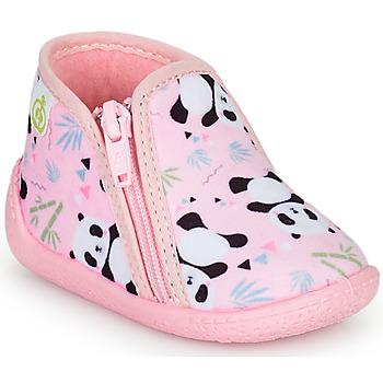 Zapatos Niña Pantuflas Citrouille et Compagnie PACARONI Rosa