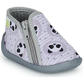 Zapatos Niños Pantuflas Citrouille et Compagnie PACARONI Gris