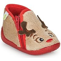 Zapatos Niños Pantuflas Citrouille et Compagnie PARFALLE Beige