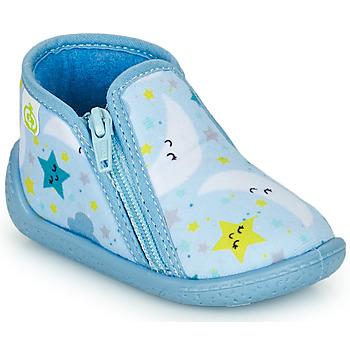 Zapatos Niños Pantuflas Citrouille et Compagnie PAVIOLI Celeste