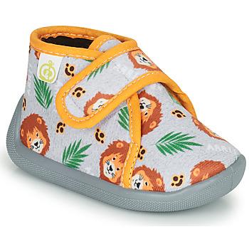 Zapatos Niño Pantuflas Citrouille et Compagnie PASTACARBO Gris