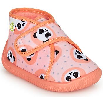 Zapatos Niña Pantuflas Citrouille et Compagnie PASTACARBO Salmón