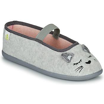 Zapatos Niña Pantuflas Citrouille et Compagnie PASTALDENTE Gris / Rosa