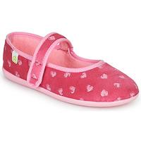 Zapatos Niña Pantuflas Citrouille et Compagnie PIWOINE Fucsia