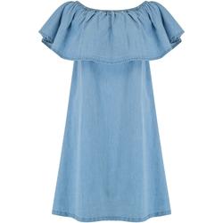 textil Mujer Vestidos cortos Animal  Azul Chambray