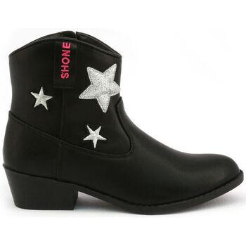 Zapatos Niña Botines Shone - 026801 Negro