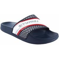 Zapatos Hombre Chanclas Yumas Playa caballero  horizon azul Rojo