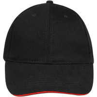 Accesorios textil Gorra Sols BUFFALO Negro Rojo Multicolor