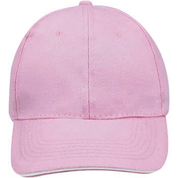 Accesorios textil Gorra Sols BUFFALO Rosa Blanco Multicolor