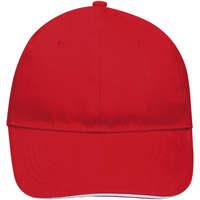 Accesorios textil Gorra Sols BUFFALO Rojo Blanco Multicolor