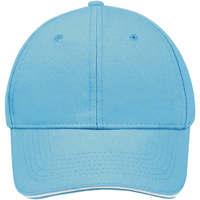 Accesorios textil Gorra Sols BUFFALO Azul Turquesa Blanco Multicolor
