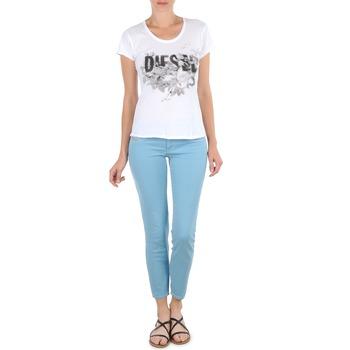 textil Mujer Pantalones cortos Diesel LIVIER-ANKLE Azul