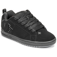 Zapatos Hombre Zapatos de skate DC Shoes COURT GRAFFIK Negro / Rojo