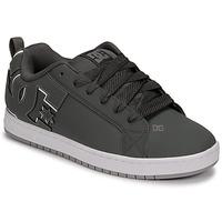 Zapatos Hombre Zapatos de skate DC Shoes COURT GRAFFIK Gris / Negro