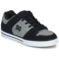 Zapatos Hombre Zapatos de skate DC Shoes PURE Gris / Negro