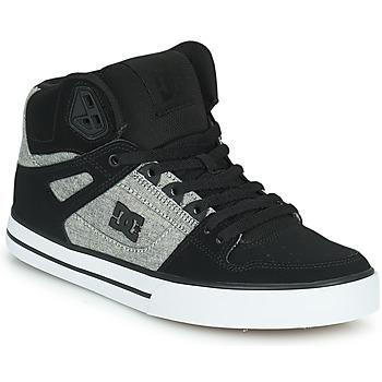 Zapatos Hombre Zapatillas altas DC Shoes PURE HIGH-TOP WC Negro / Gris