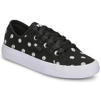 Zapatos Mujer Zapatillas bajas DC Shoes MANUAL TXSE Negro / Blanco