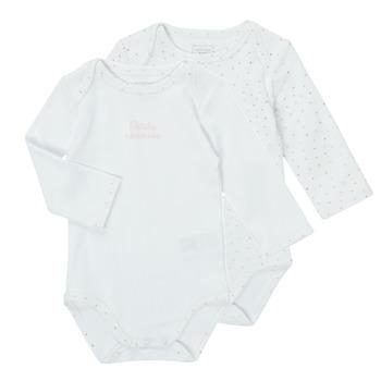 textil Niña Pijama Carrément Beau ANTHRACITE Blanco
